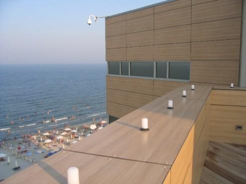 Lucrari, proiecte Placaje HPL pentru fatade - Hotel VEGA Mamaia TRESPA - Poza 11