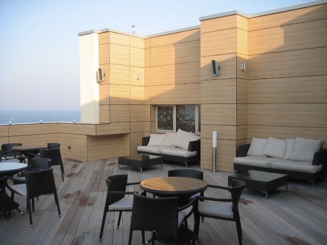 Placaje HPL pentru fatade - Hotel VEGA Mamaia TRESPA - Poza 12