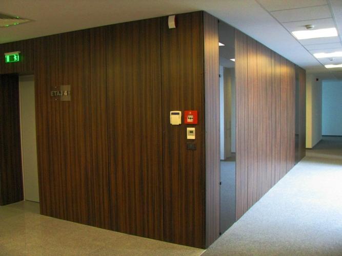 Placaje HPL pentru fatade si pereti - Cladire de birouri GRAND OFFICES str.Floreasca 55 TRESPA - Poza 3