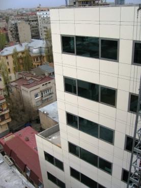 Lucrari, proiecte Placaje HPL pentru fatade si pereti - ROSETTI TOWER TRESPA - Poza 1