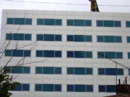 Lucrari, proiecte Placaje HPL pentru fatade si pereti - ROSETTI TOWER TRESPA - Poza 2