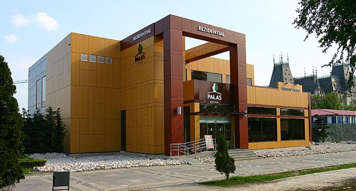 Placaje HPL pentru fatade - Show-room PALAS Iasi TRESPA - Poza 1
