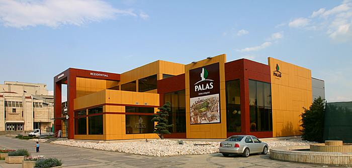 Placaje HPL pentru fatade - Show-room PALAS Iasi TRESPA - Poza 2