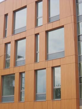 Lucrari, proiecte Placaje HPL pentru fatade - Ansamblu blocuri locuinte Bucuresti TRESPA - Poza 1