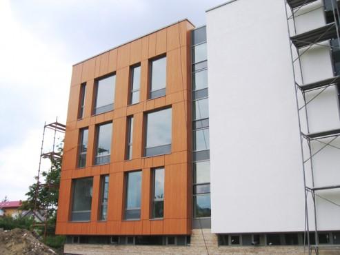 Lucrari, proiecte Placaje HPL pentru fatade - Ansamblu blocuri locuinte Bucuresti TRESPA - Poza 2