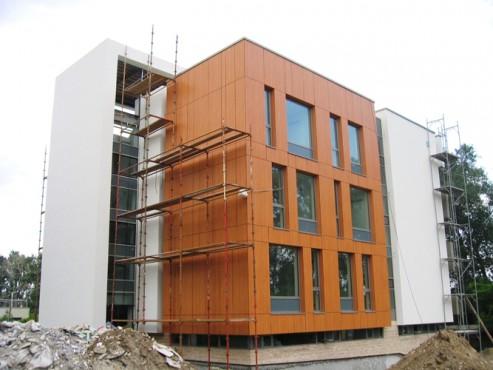 Lucrari, proiecte Placaje HPL pentru fatade - Ansamblu blocuri locuinte Bucuresti TRESPA - Poza 3