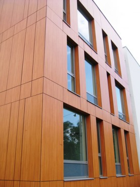 Lucrari, proiecte Placaje HPL pentru fatade - Ansamblu blocuri locuinte Bucuresti TRESPA - Poza 4