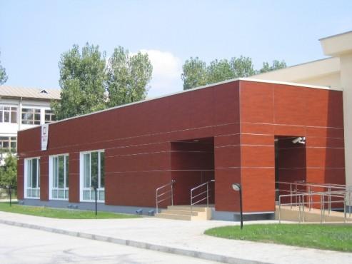 Lucrari, proiecte Placaje HPL pentru fatade - Biroul Pasapoarte si Carnete auto Iasi TRESPA - Poza 6