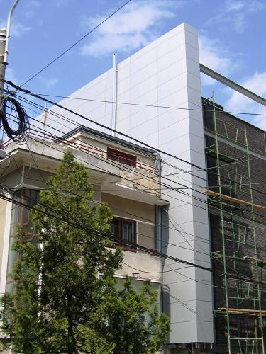 Placaje HPL pentru fatade - Bloc locuinta Bucuresti TRESPA - Poza 4