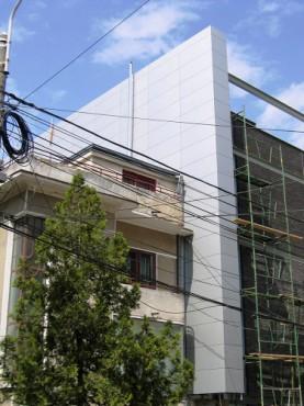 Lucrari, proiecte Placaje HPL pentru fatade - Bloc locuinta Bucuresti TRESPA - Poza 4