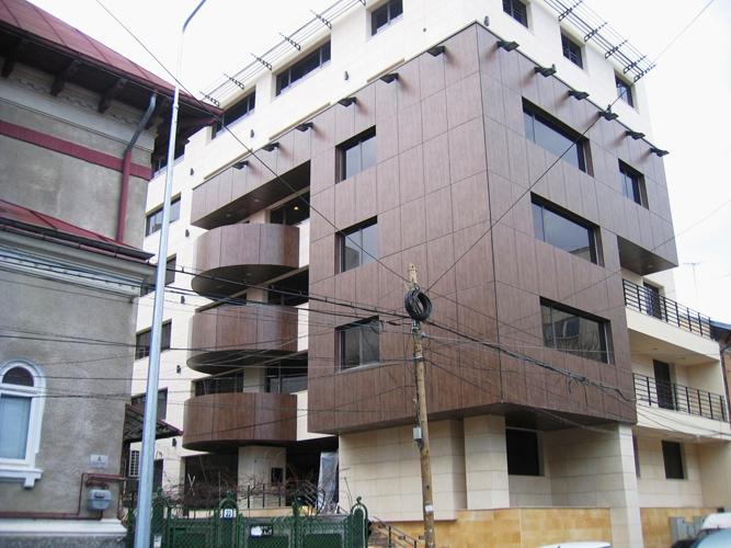 Placaje HPL pentru fatade - Cladire birouri Bucuresti Str.Brosteanu TRESPA - Poza 3