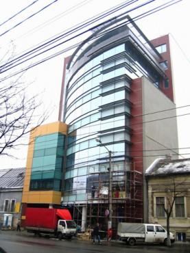Lucrari, proiecte Placaje HPL pentru fatade - Cladire birouri Cluj-Napoca TRESPA - Poza 1