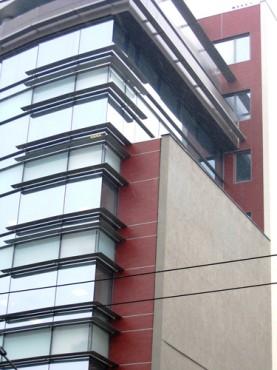 Lucrari, proiecte Placaje HPL pentru fatade - Cladire birouri Cluj-Napoca TRESPA - Poza 2