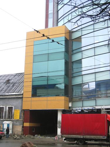 Placaje HPL pentru fatade - Cladire birouri Cluj-Napoca TRESPA - Poza 3