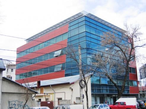 Lucrari, proiecte Placaje HPL pentru fatade - Sediu firma Bucuresti, calea Floreasca TRESPA - Poza 5