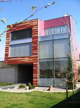 Lucrari, proiecte Placaje HPL pentru fatade - Vila Bucuresti TRESPA - Poza 2