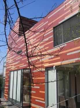 Lucrari, proiecte Placaje HPL pentru fatade - Vila Bucuresti TRESPA - Poza 3