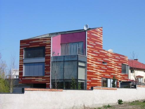 Lucrari, proiecte Placaje HPL pentru fatade - Vila Bucuresti TRESPA - Poza 5