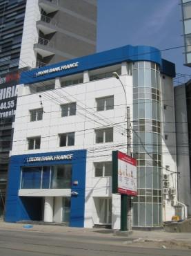 Lucrari, proiecte Placaje HPL pentru fatade - Banca BLOM Bank Bucuresti TRESPA - Poza 2
