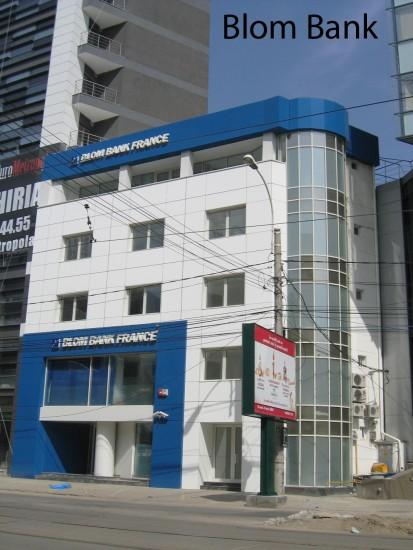 Blom Bank ATHLON, METEON, VIRTUON Placaje HPL pentru fatade si pereti - lucrari Romania