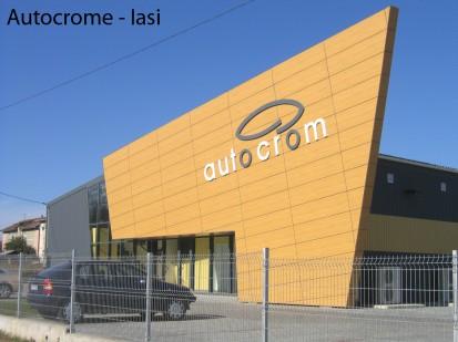 Autocrome Iasi ATHLON, METEON, VIRTUON Placaje HPL pentru fatade si pereti - lucrari Romania