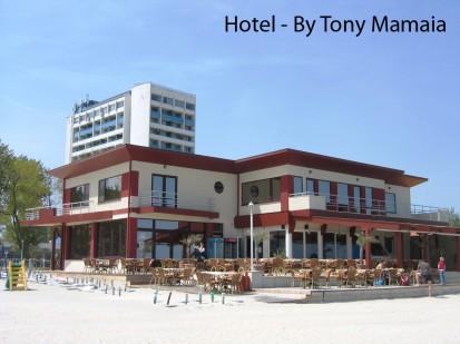 Hotel by Tony Mamaia ATHLON, METEON, VIRTUON Placaje HPL pentru fatade si pereti - lucrari Romania