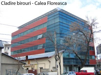 Cladire birouri calea Floreasca ATHLON, METEON, VIRTUON Placaje HPL pentru fatade si pereti - lucrari Romania