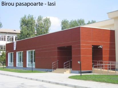 Biroul Pasapoarte Iasi ATHLON, METEON, VIRTUON Placaje HPL pentru fatade si pereti - lucrari Romania