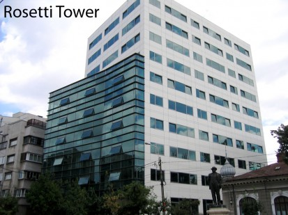 Rosetti Tower ATHLON, METEON, VIRTUON Placaje HPL pentru fatade si pereti - lucrari Romania