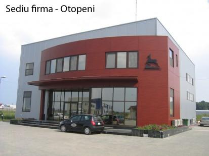 Sediu firma Otopeni ATHLON, METEON, VIRTUON Placaje HPL pentru fatade si pereti - lucrari Romania