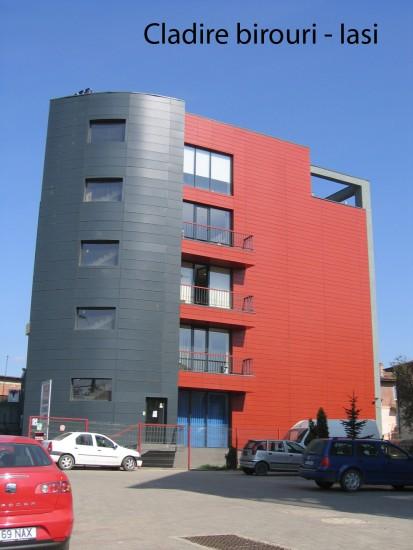 Cladire birouri Iasi ATHLON, METEON, VIRTUON Placaje HPL pentru fatade si pereti - lucrari Romania
