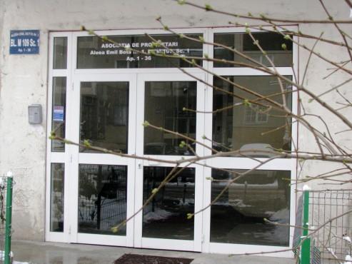 Prezentare produs Usi si ferestre cu tamplarie din profile de aluminiu ABAFORM - Poza 5