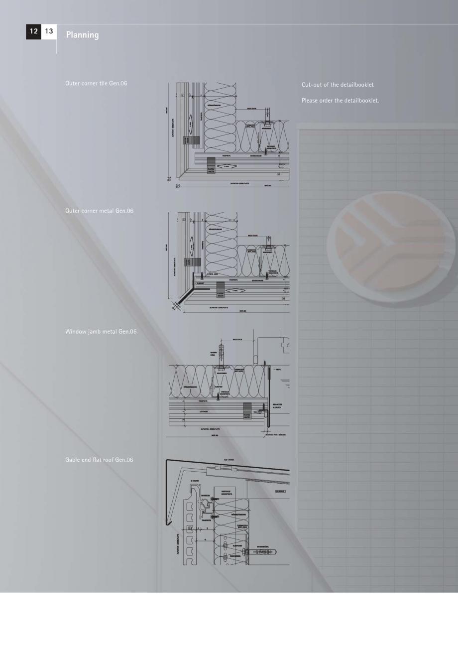 Pagina 12 - Catalog, brosura Placi ceramice (teracota) pentru fatade ALPHATON MOEDING Panouri...