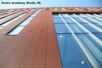 Avans academy, Breda, NL ALPHATON, LONGOTON Placari ceramice pentru fatade - International