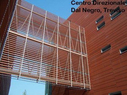 Centro Direzionale Dal Negro, Treviso ALPHATON, LONGOTON Placari ceramice pentru fatade - International