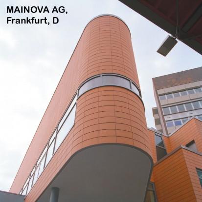 MAINOVA AG, Frankfurt, D ALPHATON, LONGOTON Placari ceramice pentru fatade - International