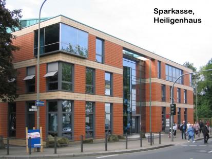 Sparkasse, Heiligenhaus ALPHATON, LONGOTON Placari ceramice pentru fatade - International