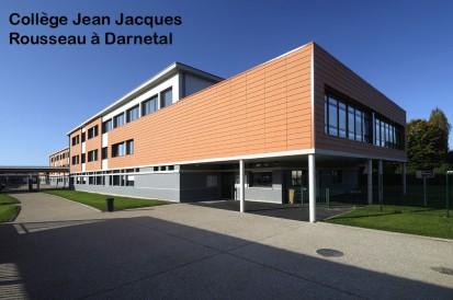 College Jean-Jacques Rousseau-a-Darnetal ALPHATON, LONGOTON Placari ceramice pentru fatade - International