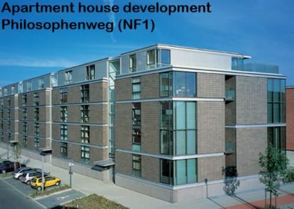 Apartment house development Philosophenweg (NF1) ALPHATON, LONGOTON Placari ceramice pentru fatade - International