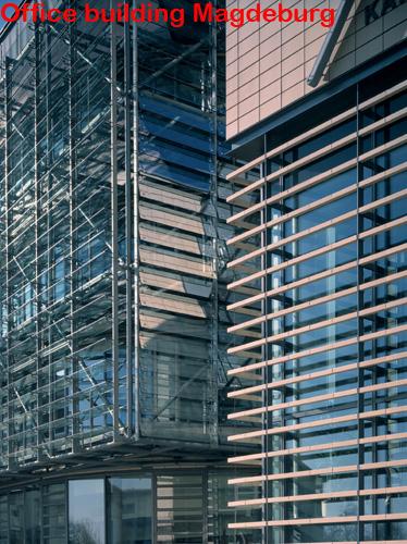 Office building Magdeburg ALPHATON, LONGOTON Placari ceramice pentru fatade - International