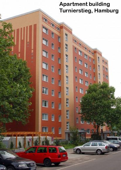 Apartment building Turnierstieg, Hamburg ALPHATON, LONGOTON Placari ceramice pentru fatade - International