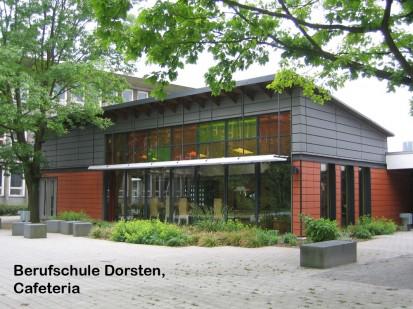 Berufschule Dorsten, Cafeteria ALPHATON, LONGOTON Placari ceramice pentru fatade - International
