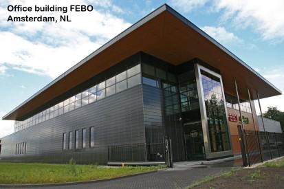 Office building FEBO Amsterdam, NL ALPHATON, LONGOTON Placari ceramice pentru fatade - International