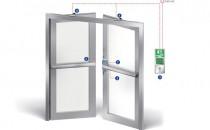 Sisteme antipanica pentru usi Sisteme antipanica pentru usi - Indiferent din ce material ar fi usa - lemn, aluminiu, sau PVC: in gama extinsa BKS gasiti cu siguranta feroneria potrivita pentru orice situatie.