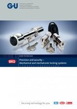 Sisteme de incuiere Mecanice si Mecatronice - 18029 G-U BKS