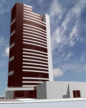 Lucrari, proiecte Bloc turn de birouri (studiu)  - Poza 1