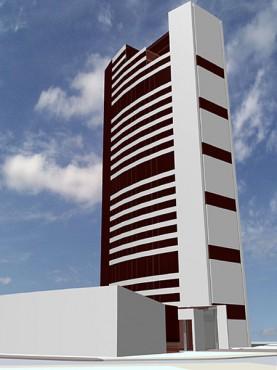 Lucrari, proiecte Bloc turn de birouri (studiu)  - Poza 3