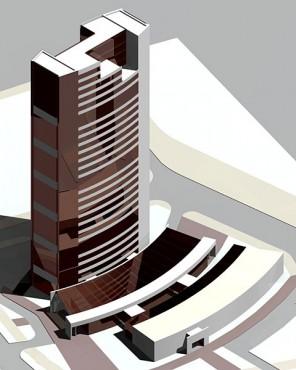 Lucrari, proiecte Bloc turn de birouri (studiu)  - Poza 4