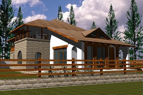 Lucrari, proiecte Casa de vacanta P+1, Busteni  - Poza 2