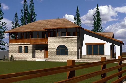 Lucrari, proiecte Casa de vacanta P+1, Busteni  - Poza 5